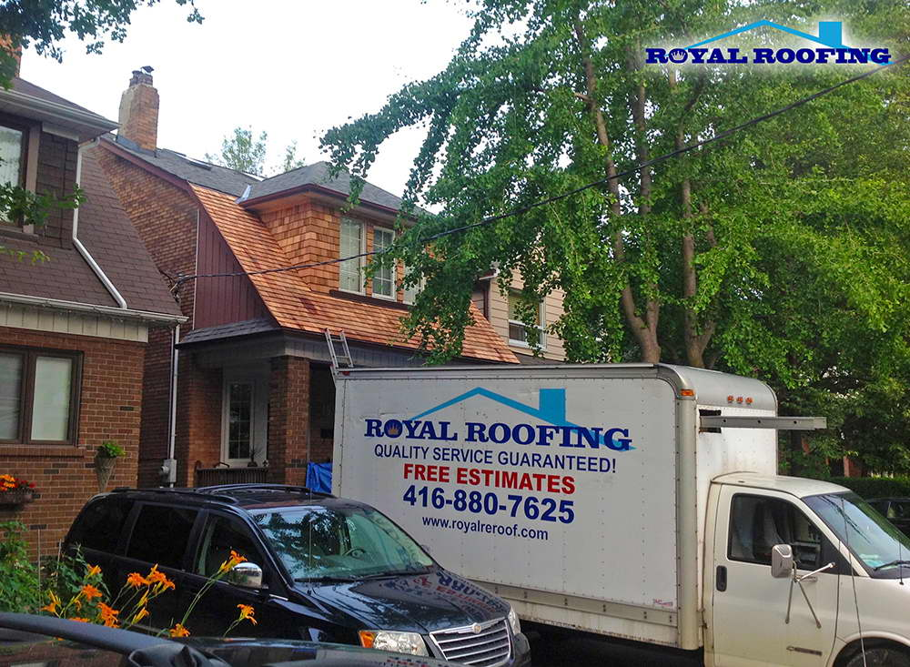 Cedar Roofing in Toronto GTA
