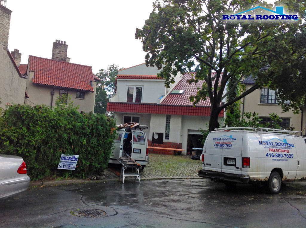Clay Roofing in Toronto (Casa Loma)