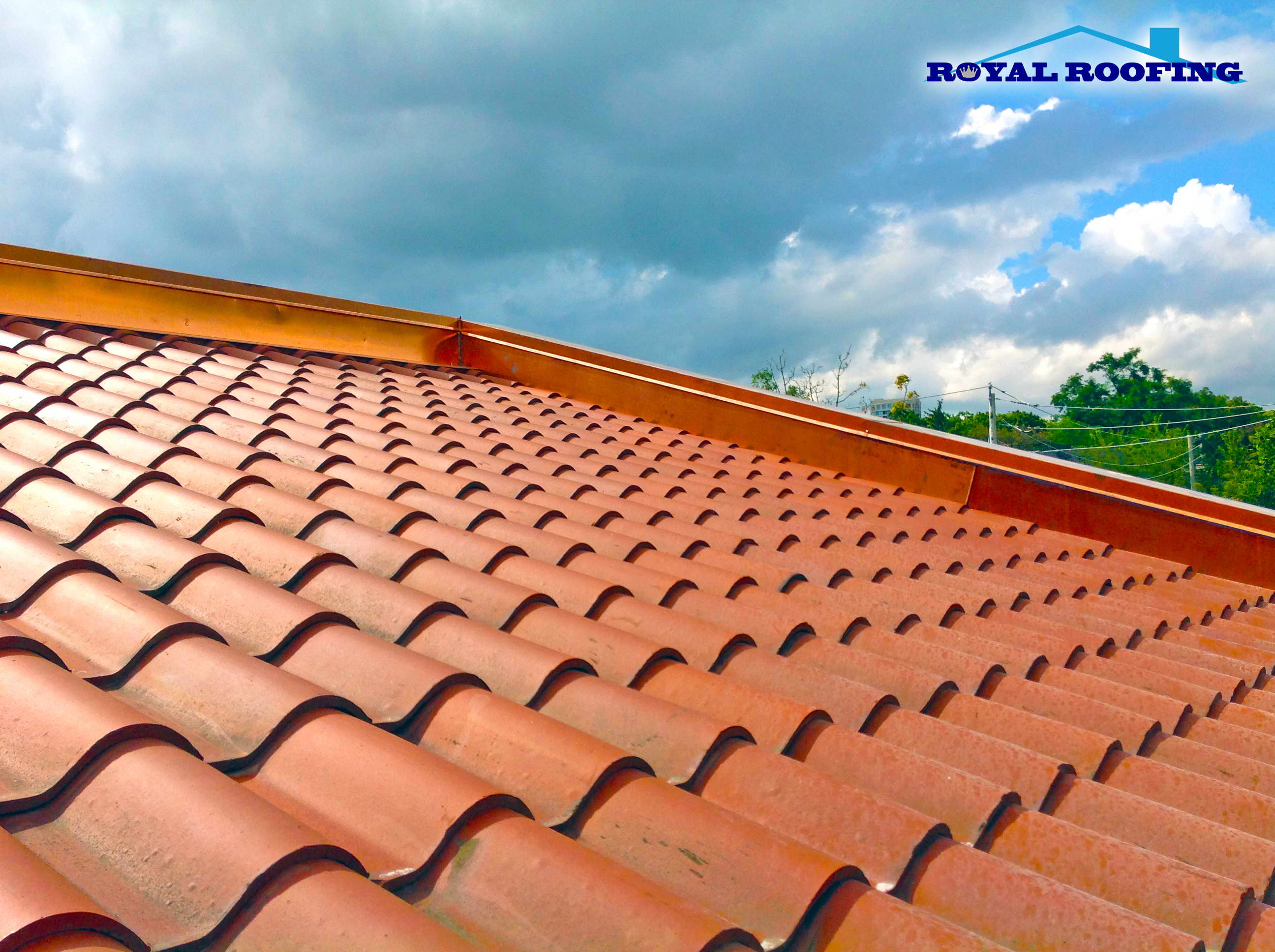 Hire certified and experienced clay tile roofing contractors for Clay roofs
