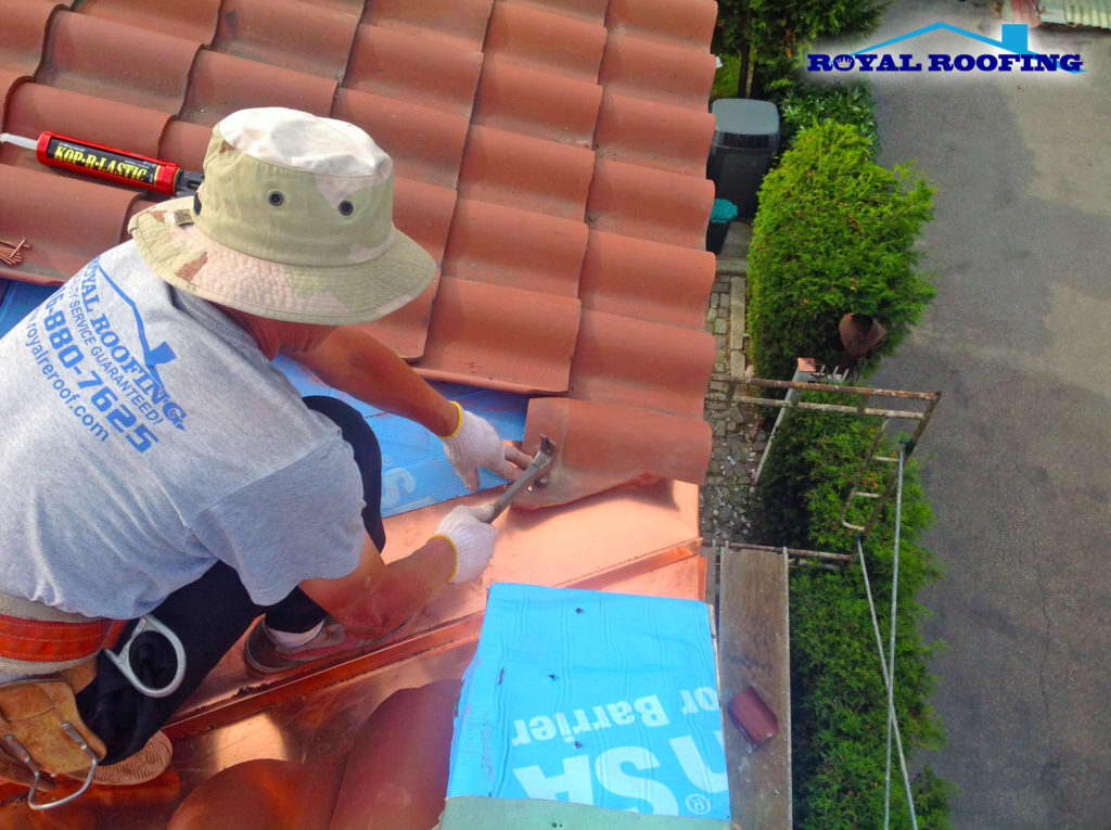 Emergency clay roof repair in Toronto GTA