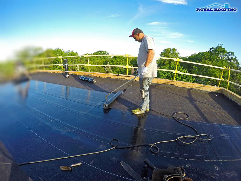 Emergency Commercial Flat Roofing