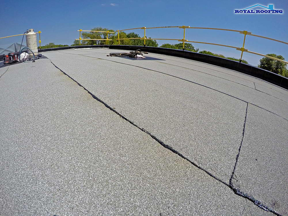 Commercial Flat Roof in Toronto Beaches