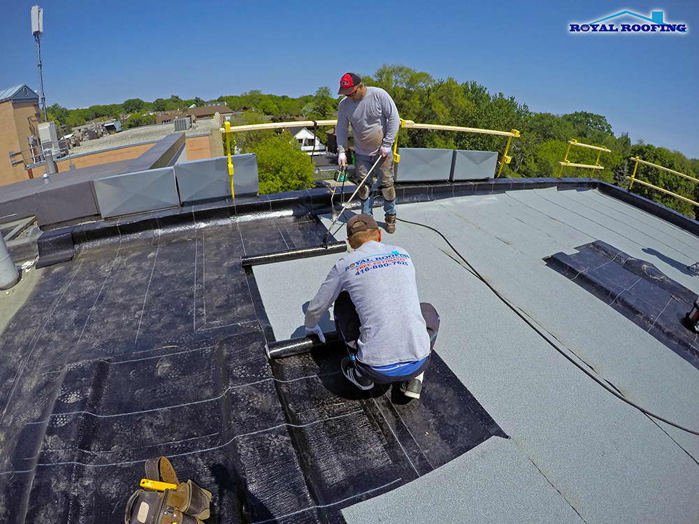 Modified Bitumen Roofing System In Toronto