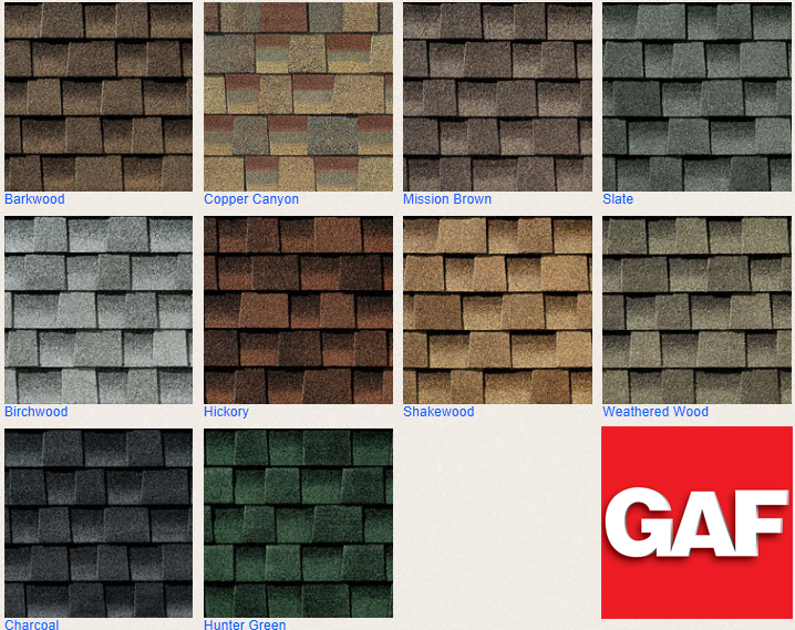Roof Shingle Types Iko Gaf Certainteed