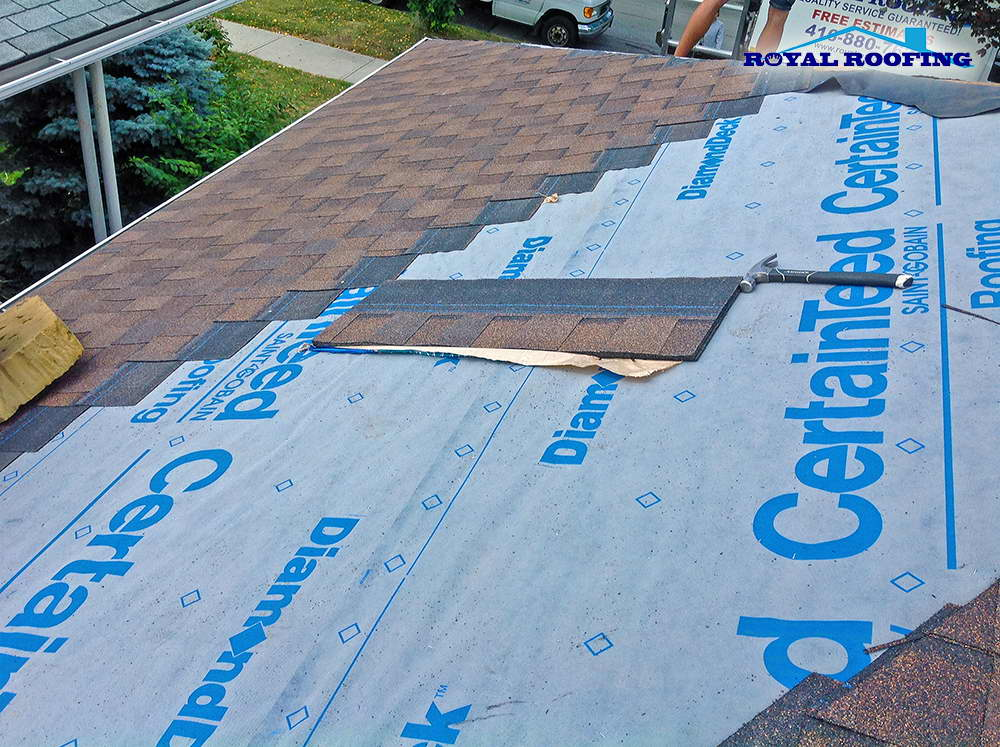 Landmark Max Def Burnt Sienna - Shingles Roof Replacement in Toronto