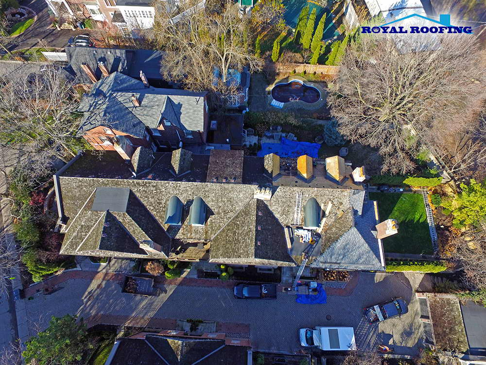 CertainTeed Landmark Roofing  Shingles Roof Replacement in Toronto