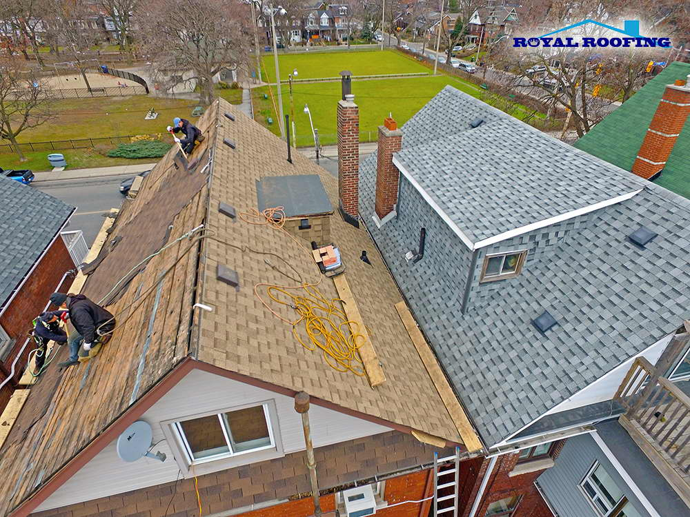 IKO Shingles Roof Replacement in Toronto