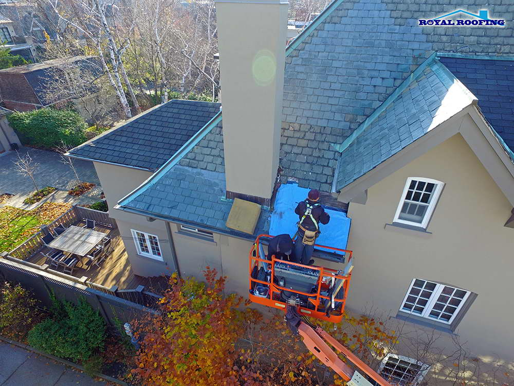 Slate Roofing in Toronto