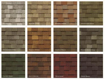 shingle colors