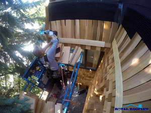 Cedar Roof Repair in Toronto