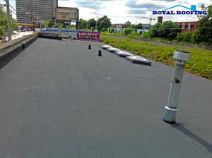 Commercial Flat Roof in GTA